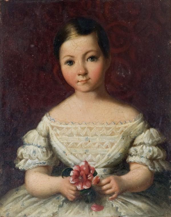 Ritratto di una bambina di casa Rucellai