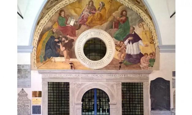Sigillo, inaugurati gli affreschi e i marmi della Chiesa di S. Anna