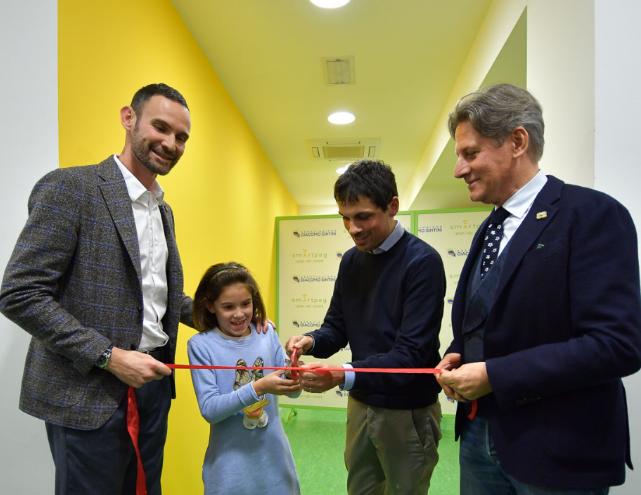 """""""Insieme è + facile"""", taglio del nastro per la nuova sede dell'Associazione Giacomo Sintini"""