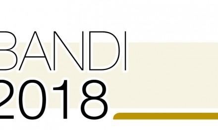Contributi 2018, bandi per oltre 3 milioni di euro