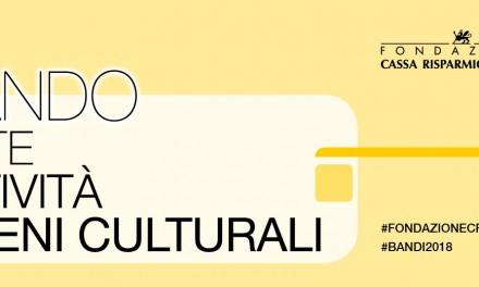 Arte, Attività e Beni culturali: pubblicati due nuovi bandi