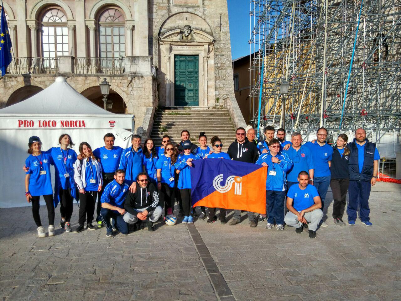 Foto 5 Comunicato Stampa CSI Perugia - Post evento Norcia