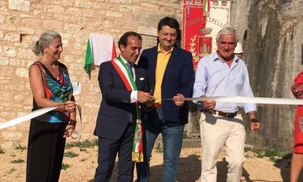 Spello, Torre San Severino torna a nuova vita dopo gli intverenti di restauro