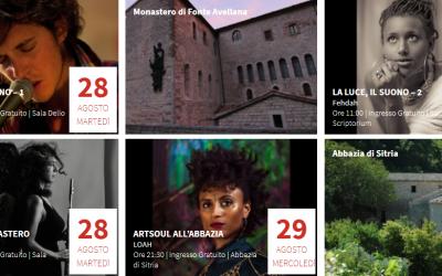Scheggiacustica 2018, artisti italiani e internazionali per l'esclusivo tour musicale nei Luoghi da Ascoltare