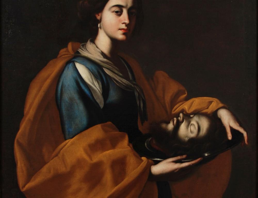Salomè con la testa del Battista
