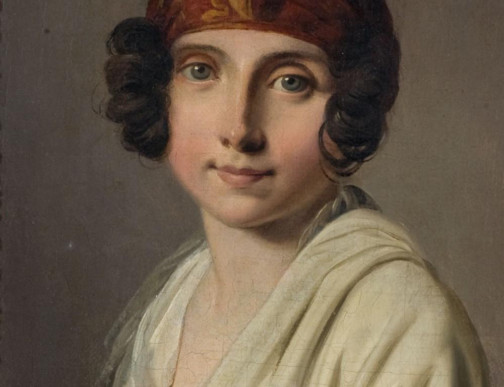 Ritratto di Adelaide Leduc, seconda moglie dell'artista