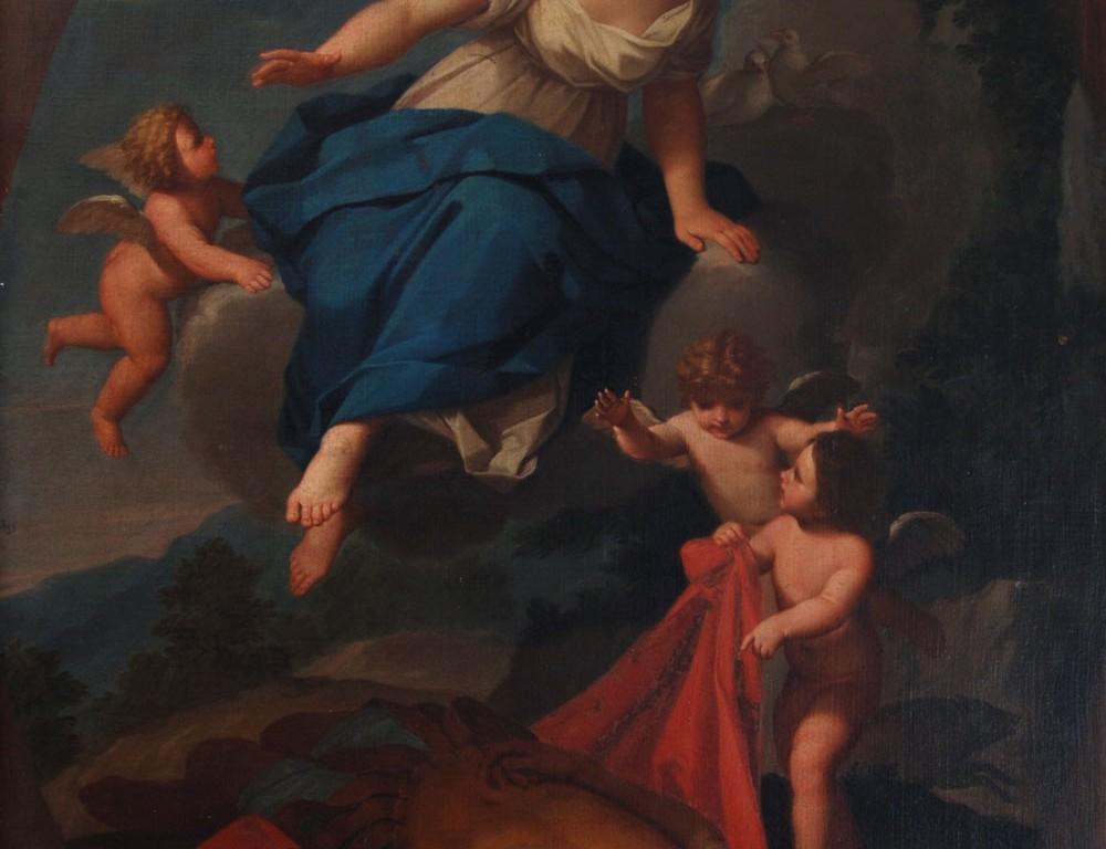 Venere ritrova Adone morto