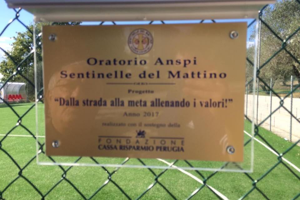 Dalla strada alla meta allenando i valori, un campo da calcio luogo di incontro per i ragazzi