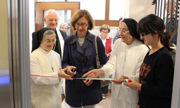 Fratta Todina, un nuovo ascensore per il Centro Speranza