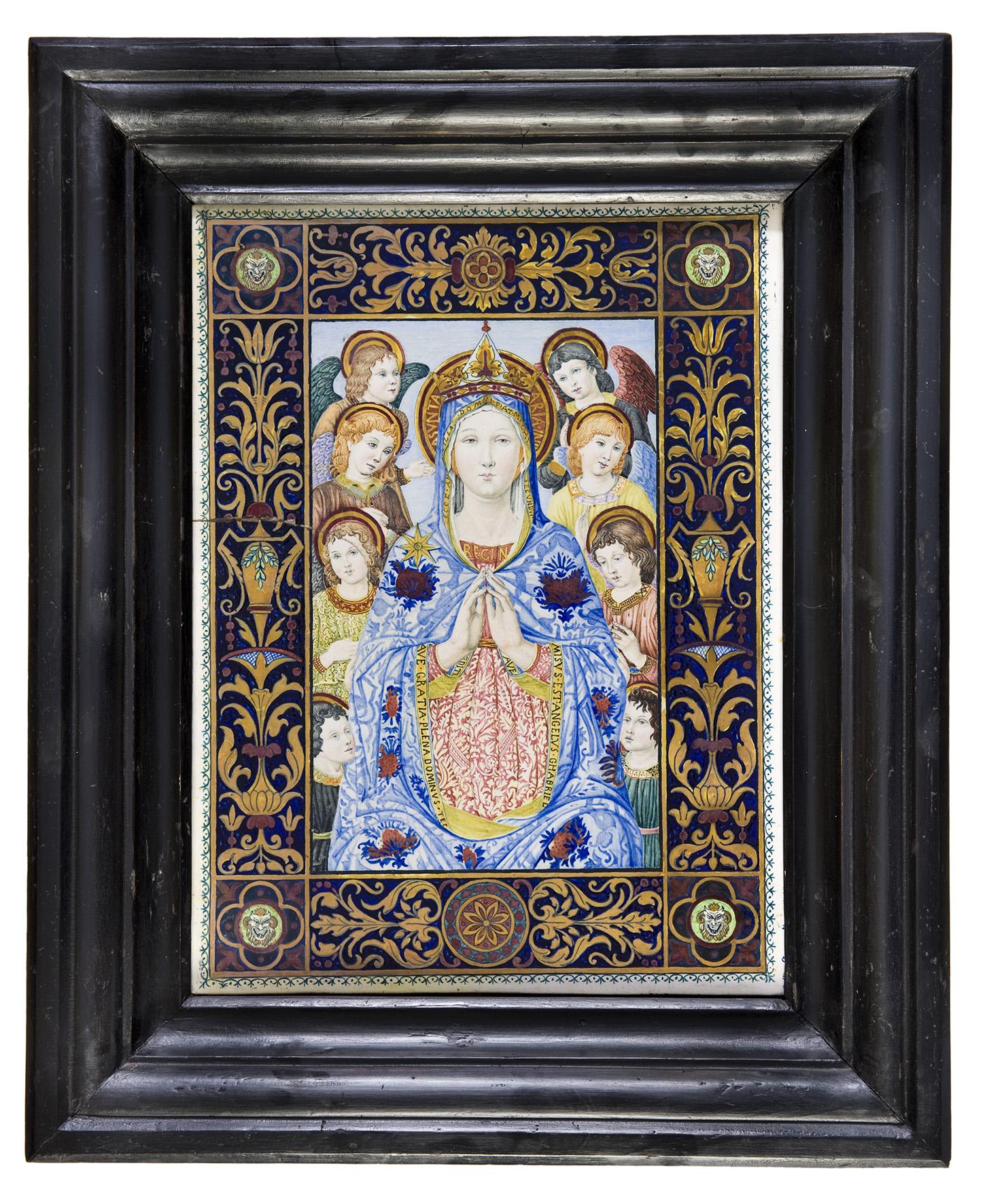 12 Giuseppe Magni targa con la Madonna di Maremma small