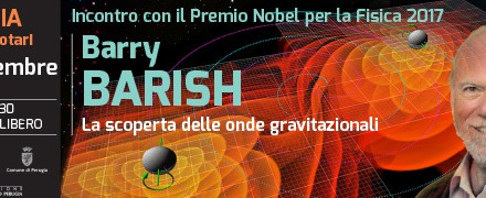 Incontro con il Premio Nobel per la Fisica 2017 Barry Barish