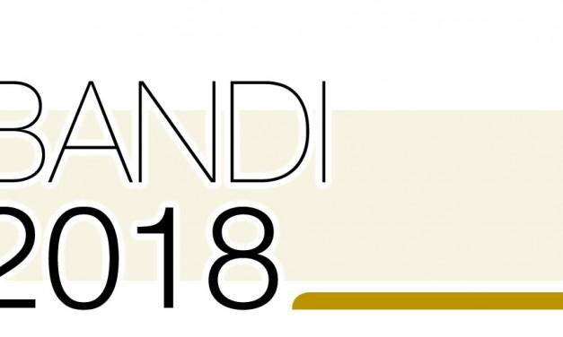 Contributi 2018, tutti i bandi pubblicati