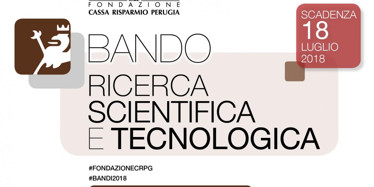 La Fondazione Cassa di Risparmio di Perugia a fianco della scuola e dei ricercatori per una nuova cultura dello sviluppo