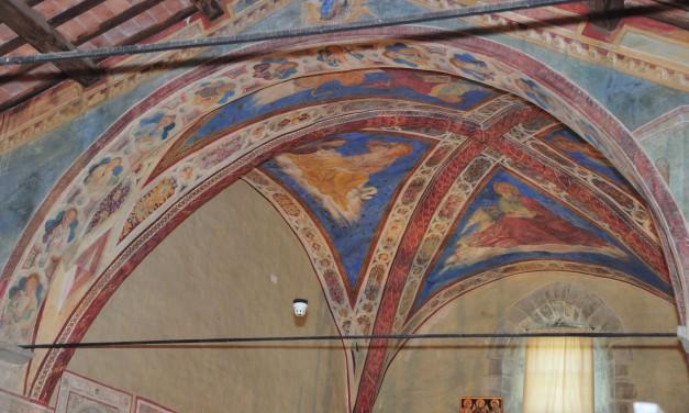Isola Maggiore, restaurati gli affreschi della Chiesa di S.Michele Arcangelo
