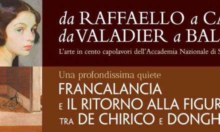 Capolavori d'arte da Raffaello a de Chirico tra Perugia e Assisi