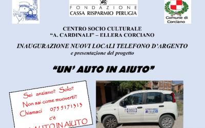 """""""Un'auto in aiuto"""" per gli anziani e le persone non autosufficienti"""
