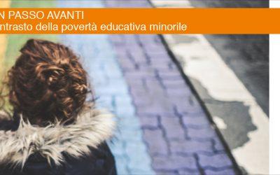 """Bando """"Un passo avanti"""" per contrastare la povertà educativa minorile"""
