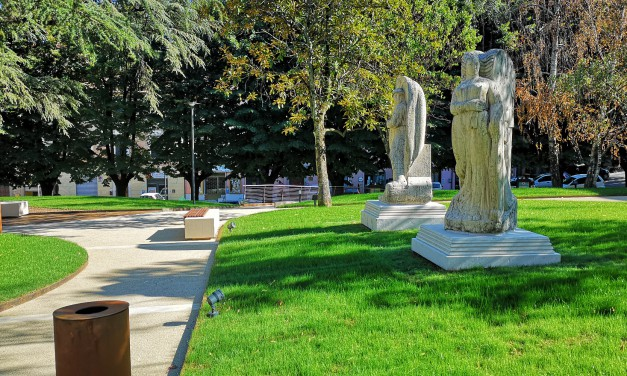 Verde, illuminazione e area giochi: riaperti i nuovi giardini pubblici Orosei a Marsciano