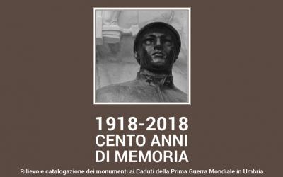 La ricerca sui monumenti ai Caduti della Prima Guerra Mondiale in Umbria