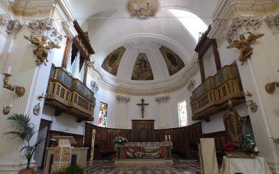 Nocera Umbra, restaurato il coro ligneo della concattedrale di Santa Maria Assunta,