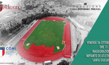 Perugia, nuova vita per lo storico impianto sportivo del Santa Giuliana