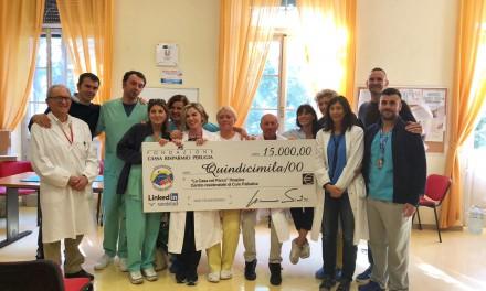 """Donato all'Hospice di Perugia un puntatore ottico per """"Dar voce a chi non ce l'ha"""""""