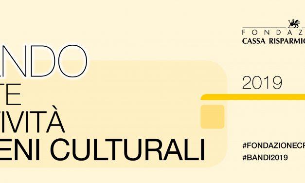 """Bando Arte e cultura """"Iniziative culturali che rilancino e valorizzino il territorio"""""""