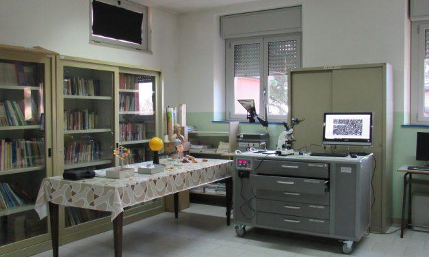 Nuovo laboratorio scientifico per la scuola Cocchi-Aosta di Pantalla