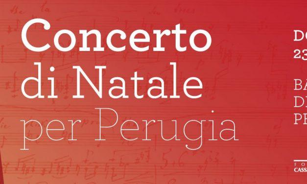Fondazione Cassa di Risparmio di Perugia e Fondazione Umbria Jazz: due concerti per gli auguri alla città