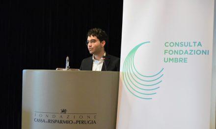 La Consulta delle Fondazioni Umbre cambia logo e premia un giovane talento
