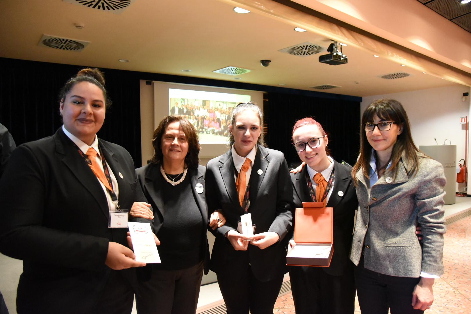 CreativiEAT l'azienda vincitrite dell'Istituto Alberghiero di Assisi (1)