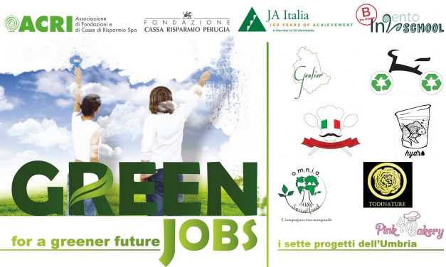 Al Green Jobs vince l'Umbria con CreativitEat con il cucchiaino che si mangia ed è biodegradabile