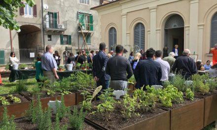 """A Castiglione del Lago inaugurato """"Hortus Trasimeni"""" per coltivare la solidarietà"""