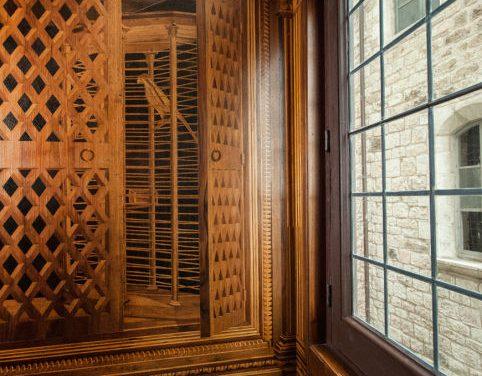 Lo Studiolo di Gubbio, tour virtuale e ipotesi ricostruttive di un microcosmo umanistico
