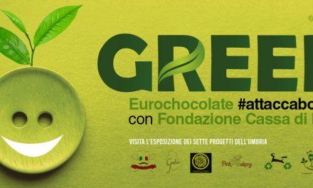 Green Jobs, Eurochocolate #attaccabottone con la Fondazione CRPG per valorizzare il talento degli studenti umbri