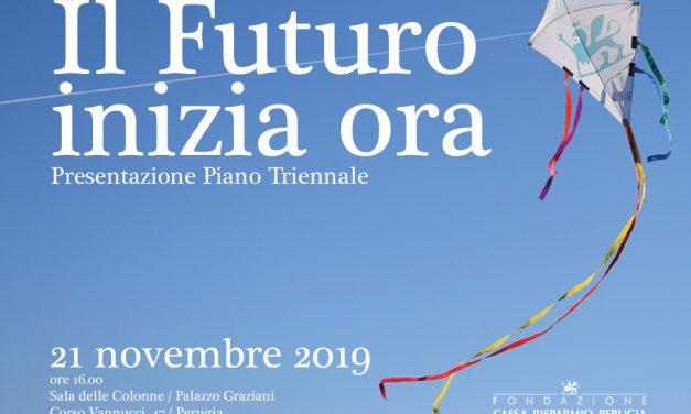 Il futuro, inizia ora. Presentazione del nuovo piano triennale 2020-2022