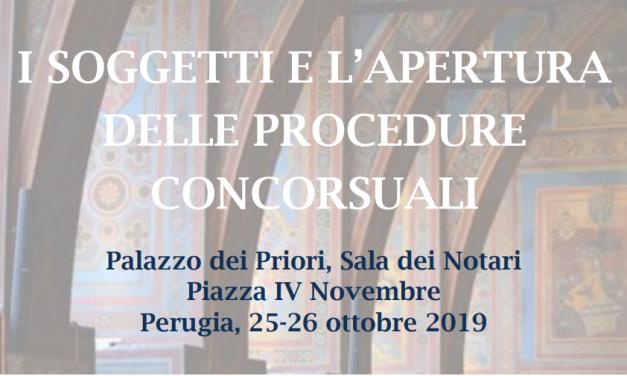 Il nuovo Codice della crisi d'impresa, convegno nazionale a Perugia