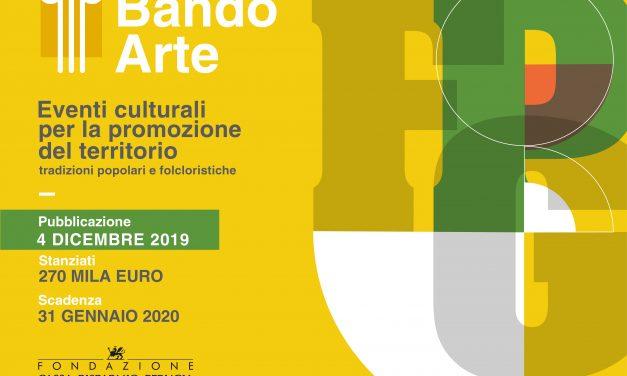 """Bando """"Eventi culturali per la promozione del territorio. Tradizioni popolari e folcloristiche"""""""