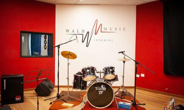 Inaugurazione della sala prove e studio di registrazione a Gualdo Tadino