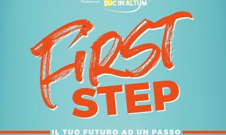 First step: il tuo futuro ad un passo