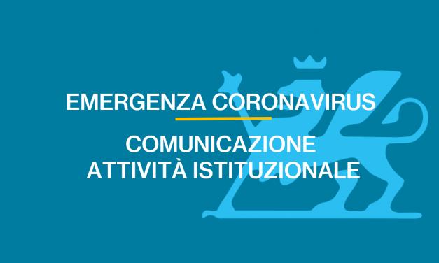 Comunicazione attività istituzionale