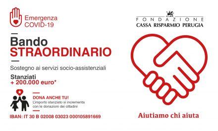 """""""Emergenza Covid-19: aiutiamo chi aiuta"""" già raccolti grazie al vostro aiuto 30mila euro!"""