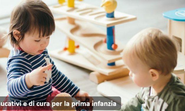 """""""Comincio da zero"""": il nuovo bando per la prima infanzia"""
