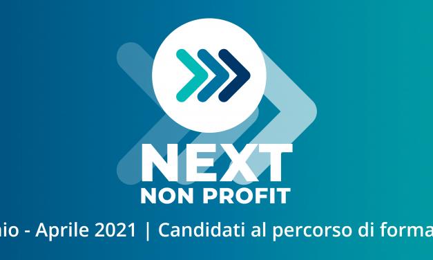 Next Non Profit: online e in aula da gennaio a aprile 2021