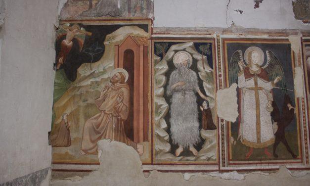 Restauro degli affreschi dell'Ex Coro del Monastero di Monteluce a Perugia