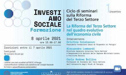 La Riforma del Terzo Settore nel quadro evolutivo dell'economia civile