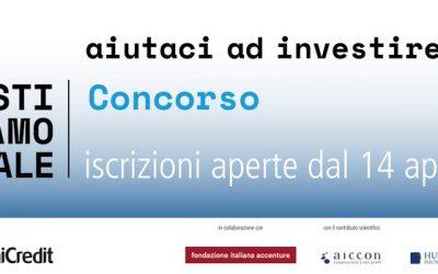 """La Fondazione promuove il concorso """"InvestiAMOsociale"""" a supporto di progetti ad alto impatto sociale!"""