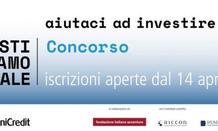 """Parte il concorso """"InvestiAMOsociale"""" a supporto di progetti ad alto impatto sociale!"""