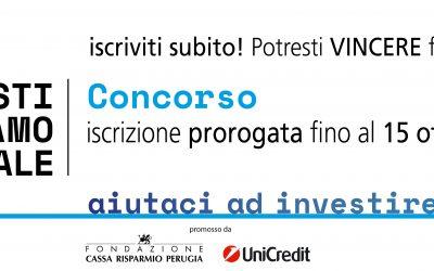 """Prorogata la scadenza del Concorso """"InvestiAMOsociale""""!"""