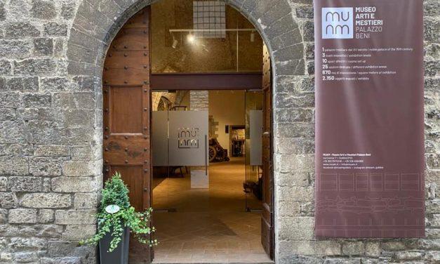 MUAM – Museo delle Arti e dei Mestieri di Palazzo Beni a Gubbio